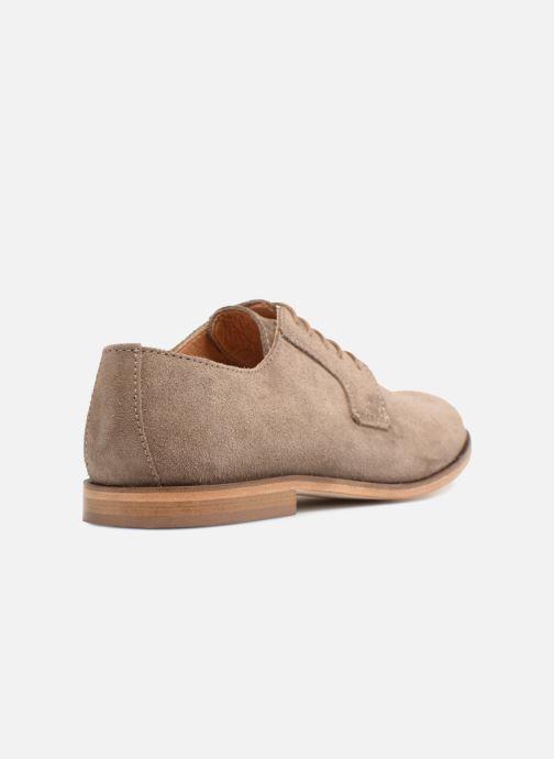 Chaussures à lacets Mr SARENZA Southampton Beige vue face