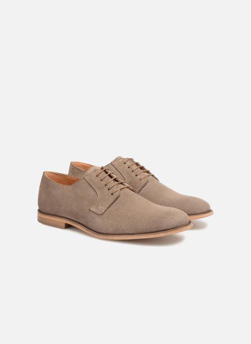 Chaussures à lacets Mr SARENZA Southampton Beige vue derrière