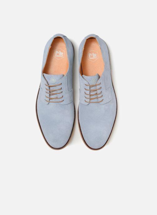 Zapatos con cordones Mr SARENZA Southampton Azul vista del modelo