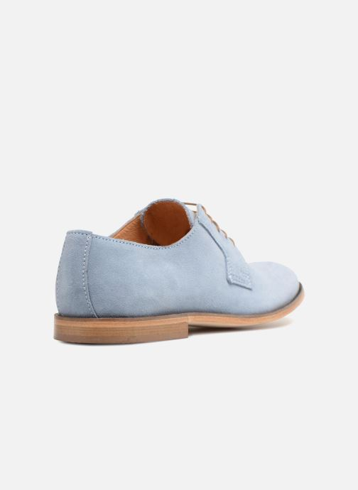 Zapatos con cordones Mr SARENZA Southampton Azul vista de frente