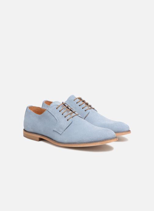 Zapatos con cordones Mr SARENZA Southampton Azul vistra trasera