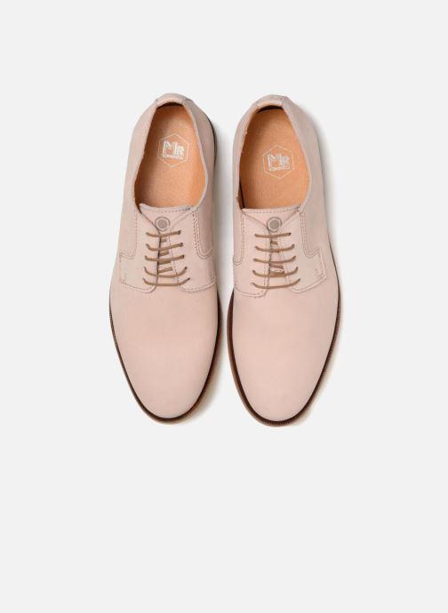 Zapatos con cordones Mr SARENZA Southampton Rosa vista del modelo