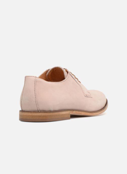 Zapatos con cordones Mr SARENZA Southampton Rosa vista de frente