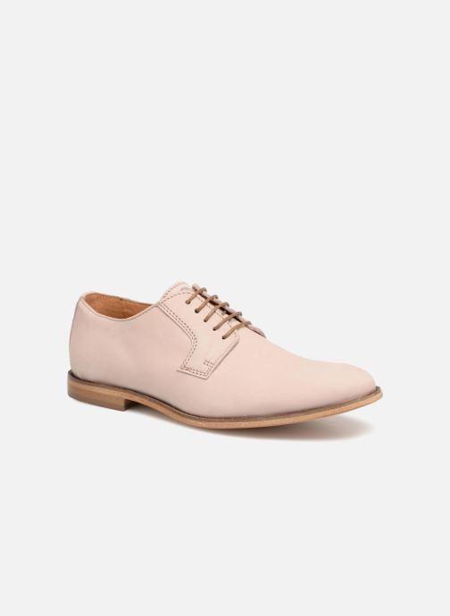 Zapatos con cordones Mr SARENZA Southampton Rosa vistra trasera