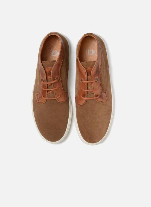 Sneakers Mr SARENZA Southend Marrone modello indossato