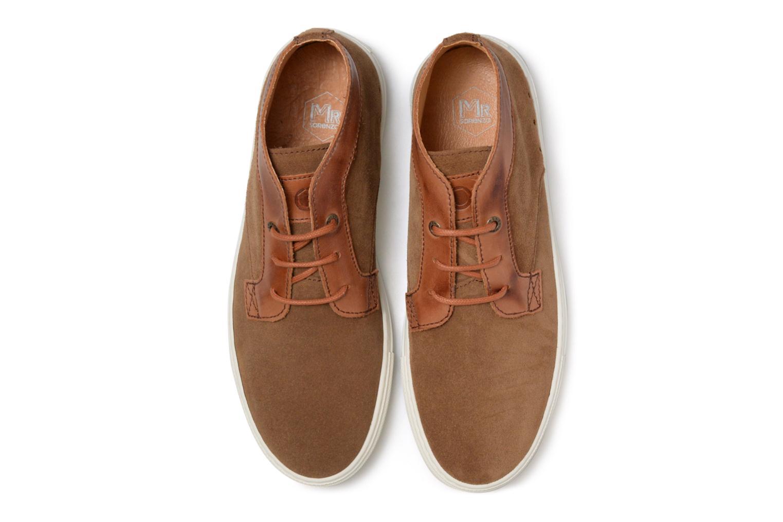 Baskets Mr SARENZA Southend Marron vue portées chaussures