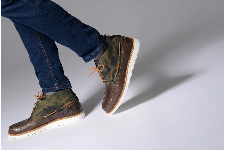 Bottines et boots Mr SARENZA Sunderland Vert vue bas / vue portée sac