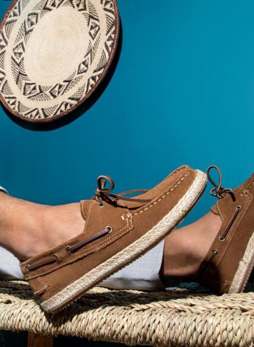 Zapatos con cordones Mr SARENZA Sboat Marrón vista de abajo