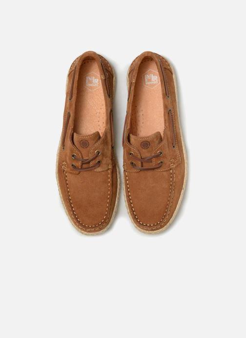 Zapatos con cordones Mr SARENZA Sboat Marrón vista del modelo