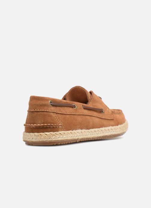 Chaussures à lacets Mr SARENZA Sboat Marron vue face