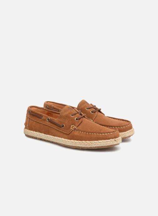 Zapatos con cordones Mr SARENZA Sboat Marrón vistra trasera
