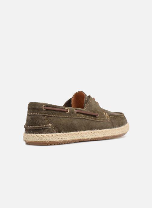 Zapatos con cordones Mr SARENZA Sboat Verde vista de frente