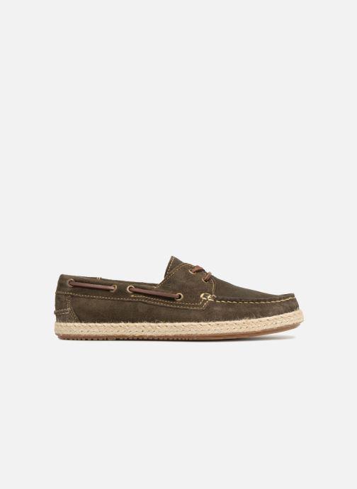 Snøresko Mr SARENZA Sboat Grøn detaljeret billede af skoene