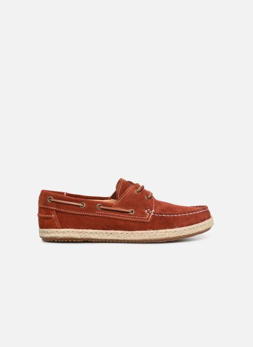 Snøresko Mr SARENZA Sboat Rød detaljeret billede af skoene