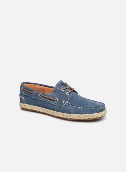 Chaussures à lacets Mr SARENZA Sboat Bleu vue droite