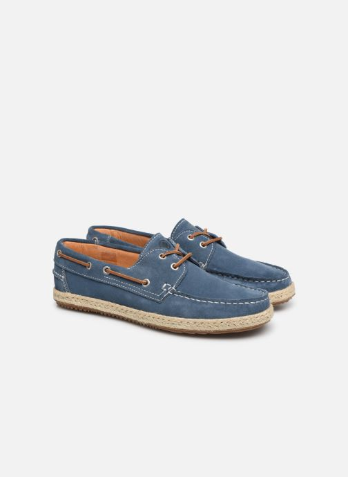 Zapatos con cordones Mr SARENZA Sboat Azul vistra trasera