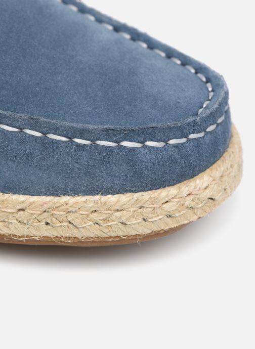 Zapatos con cordones Mr SARENZA Sboat Azul vista lateral izquierda