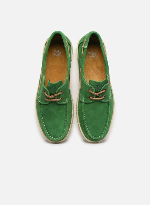 Chaussures à lacets Mr SARENZA Sboat Vert vue portées chaussures