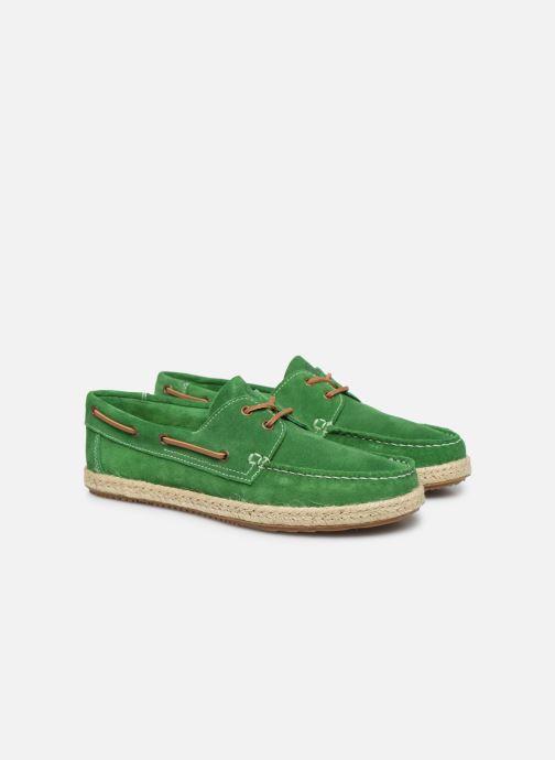 Chaussures à lacets Mr SARENZA Sboat Vert vue derrière