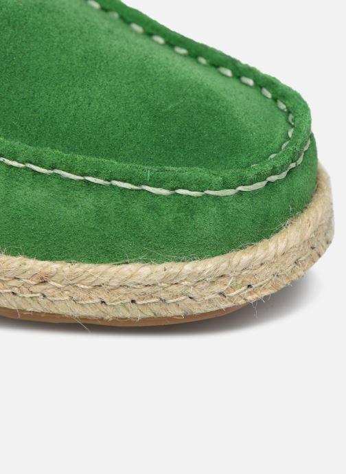Chaussures à lacets Mr SARENZA Sboat Vert vue gauche