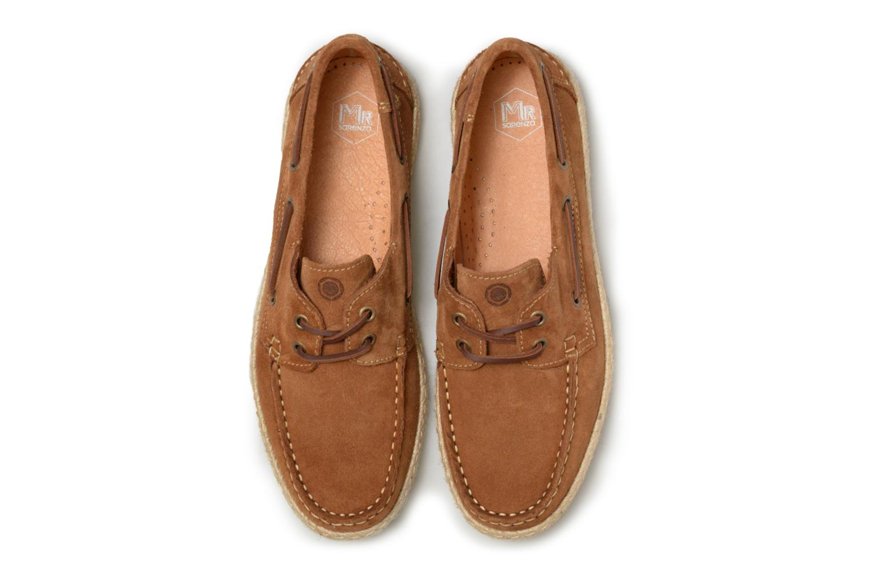 Chaussures à lacets Mr SARENZA Sboat Marron vue portées chaussures