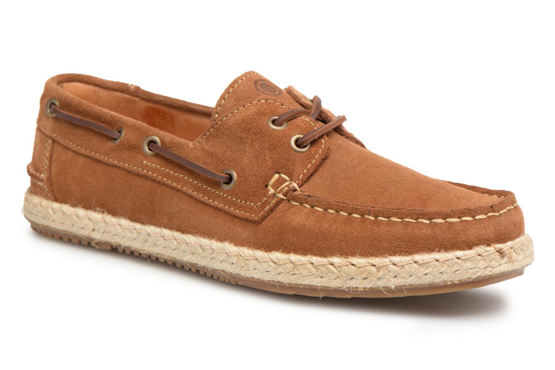Chaussures à lacets Mr SARENZA Sboat Marron vue droite