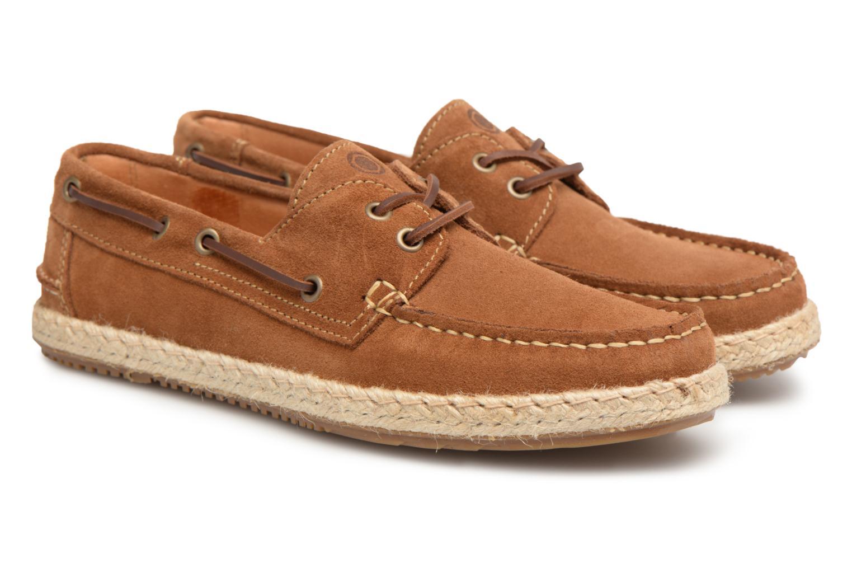 Chaussures à lacets Mr SARENZA Sboat Marron vue derrière