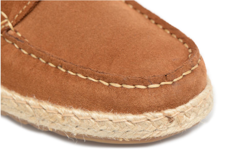 Chaussures à lacets Mr SARENZA Sboat Marron vue gauche