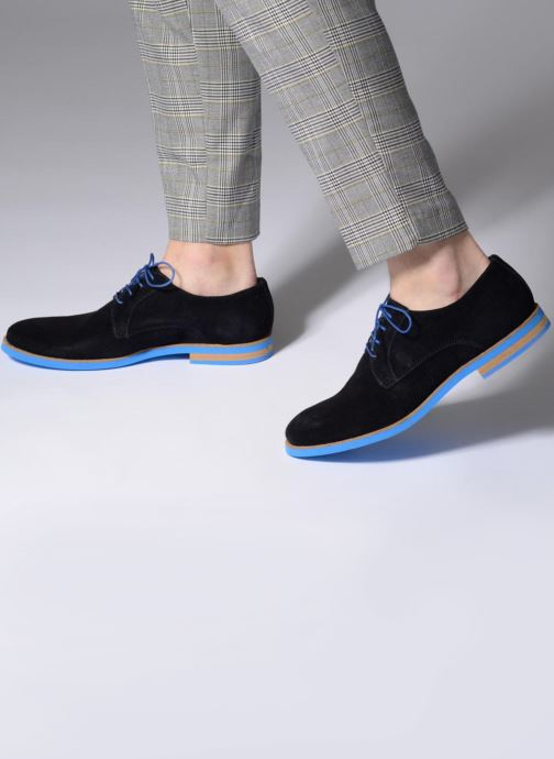 Lace-up shoes Mr SARENZA Sheffield Blue view from underneath / model view