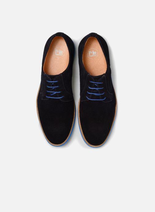 Scarpe con lacci Mr SARENZA Sheffield Azzurro modello indossato