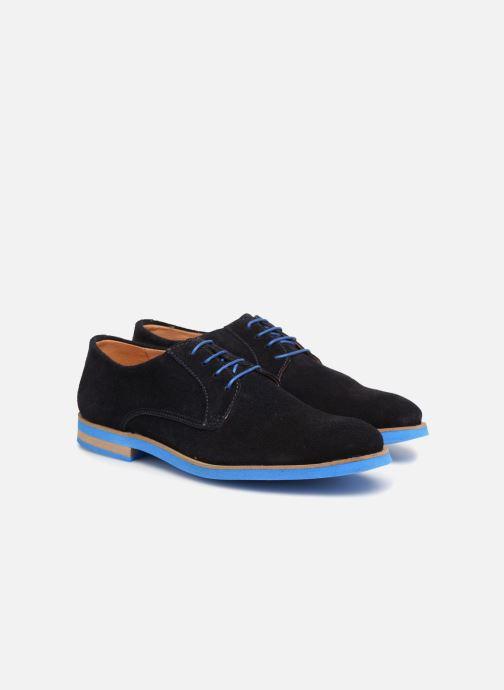 Chaussures à lacets Mr SARENZA Sheffield Bleu vue derrière