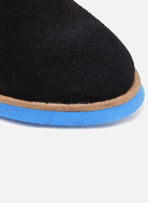 Chaussures à lacets Mr SARENZA Sheffield Bleu vue gauche