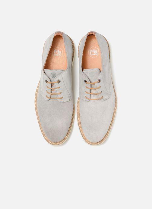 Zapatos con cordones Mr SARENZA Sheffield Gris vista del modelo