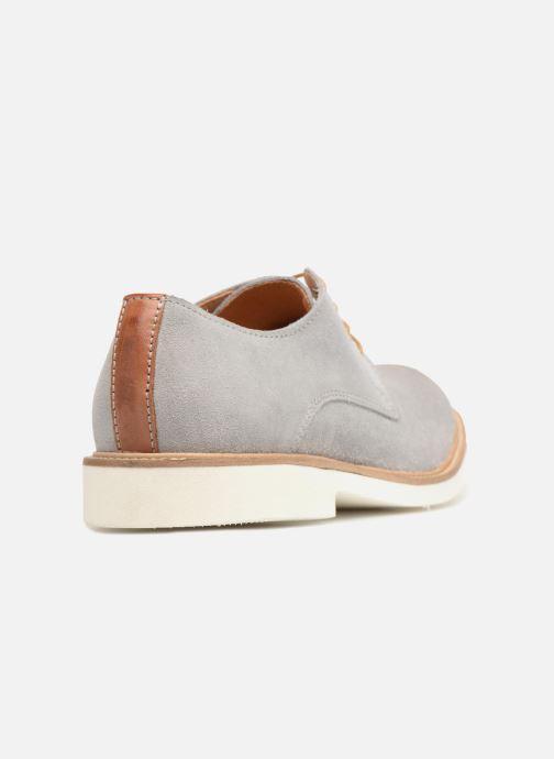 Zapatos con cordones Mr SARENZA Sheffield Gris vista de frente