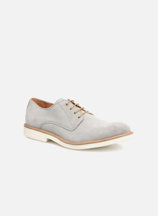 Zapatos con cordones Mr SARENZA Sheffield Gris vista lateral derecha