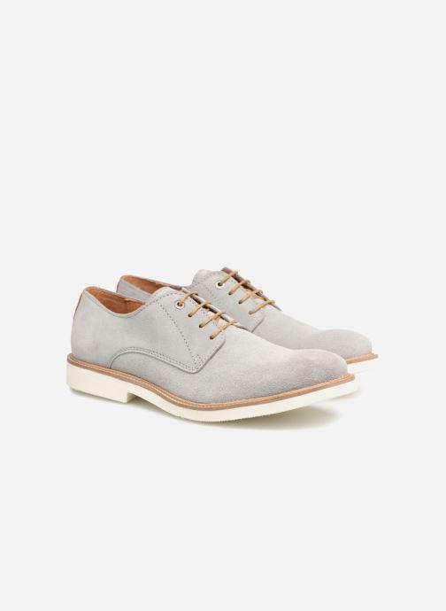 Zapatos con cordones Mr SARENZA Sheffield Gris vistra trasera