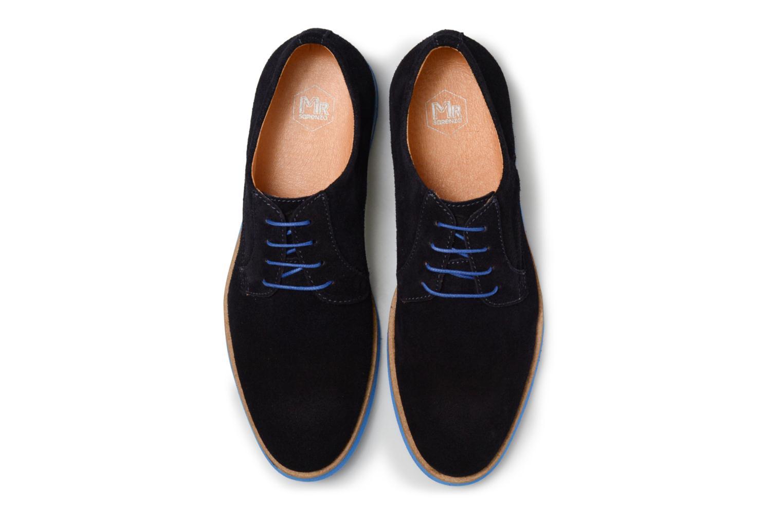 Chaussures à lacets Mr SARENZA Sheffield Bleu vue portées chaussures