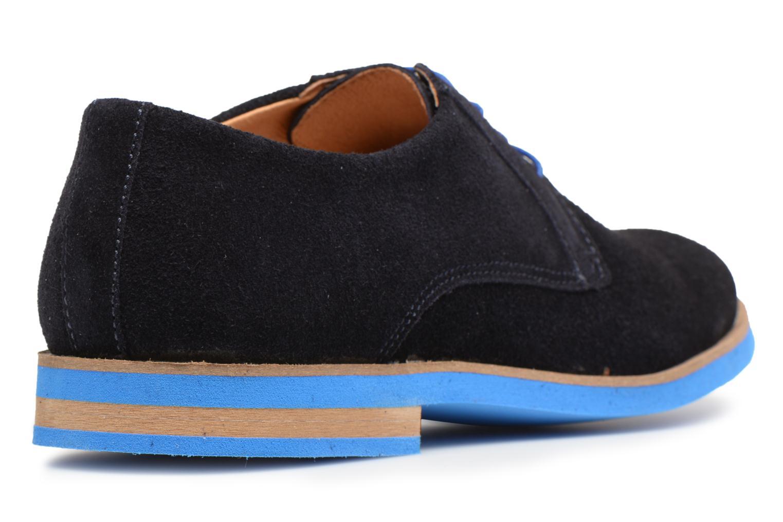 Chaussures à lacets Mr SARENZA Sheffield Bleu vue face