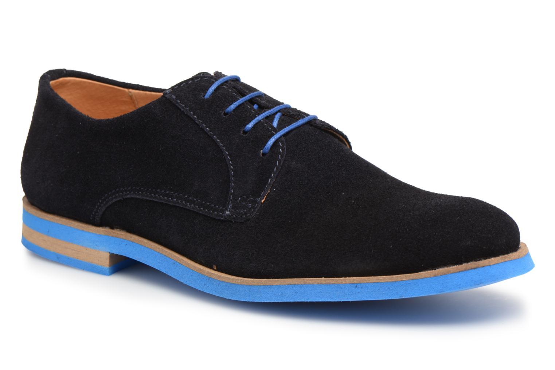 Chaussures à lacets Mr SARENZA Sheffield Bleu vue droite
