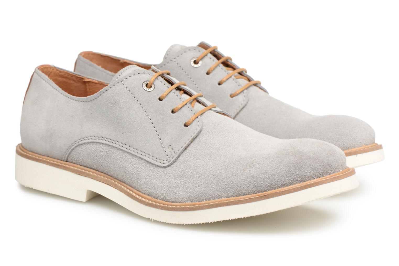 Chaussures à lacets Mr SARENZA Sheffield Gris vue derrière