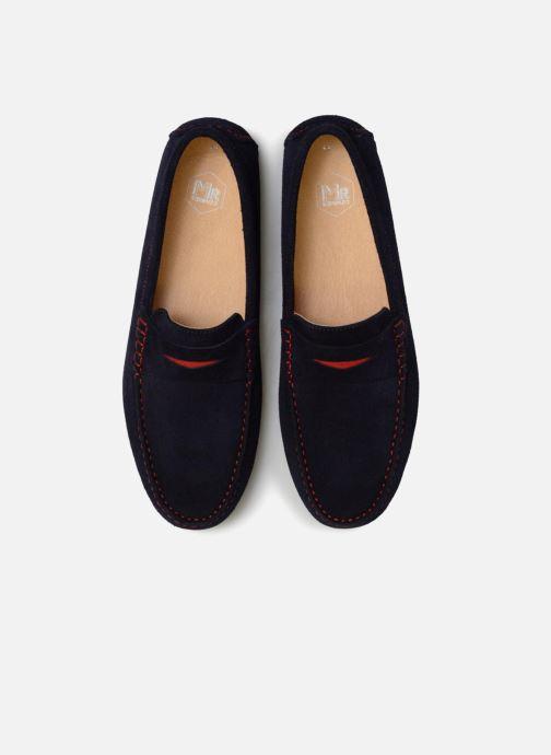 Mocassins Mr SARENZA Suttin Bleu vue portées chaussures