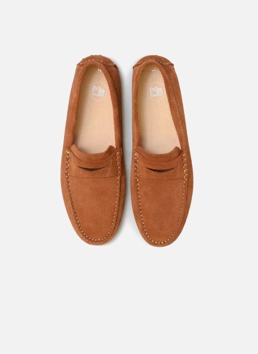 Mocassins Mr SARENZA Suttin Marron vue portées chaussures
