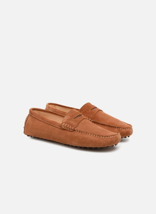 Loafers Mr SARENZA Suttin Brown back view