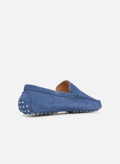 Mocasines Mr SARENZA Suttin Azul vista de frente