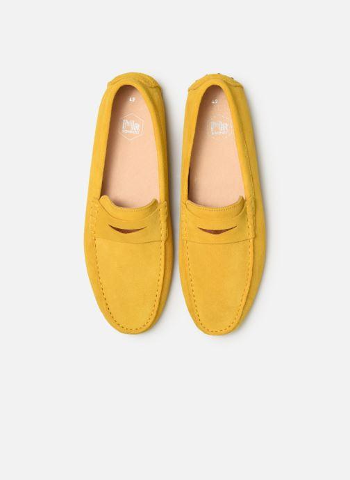 Mocassins Mr SARENZA Suttin Jaune vue portées chaussures
