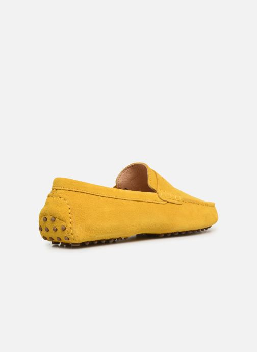 Mocasines Mr SARENZA Suttin Amarillo vista de frente