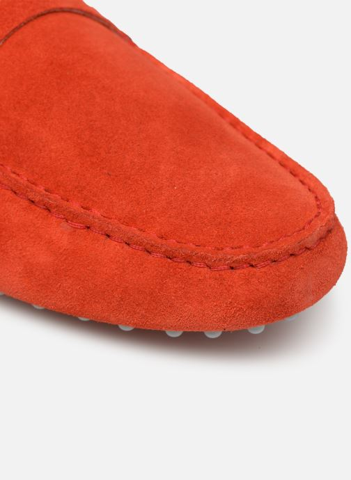 Loafers Mr SARENZA Suttin Red view from the left