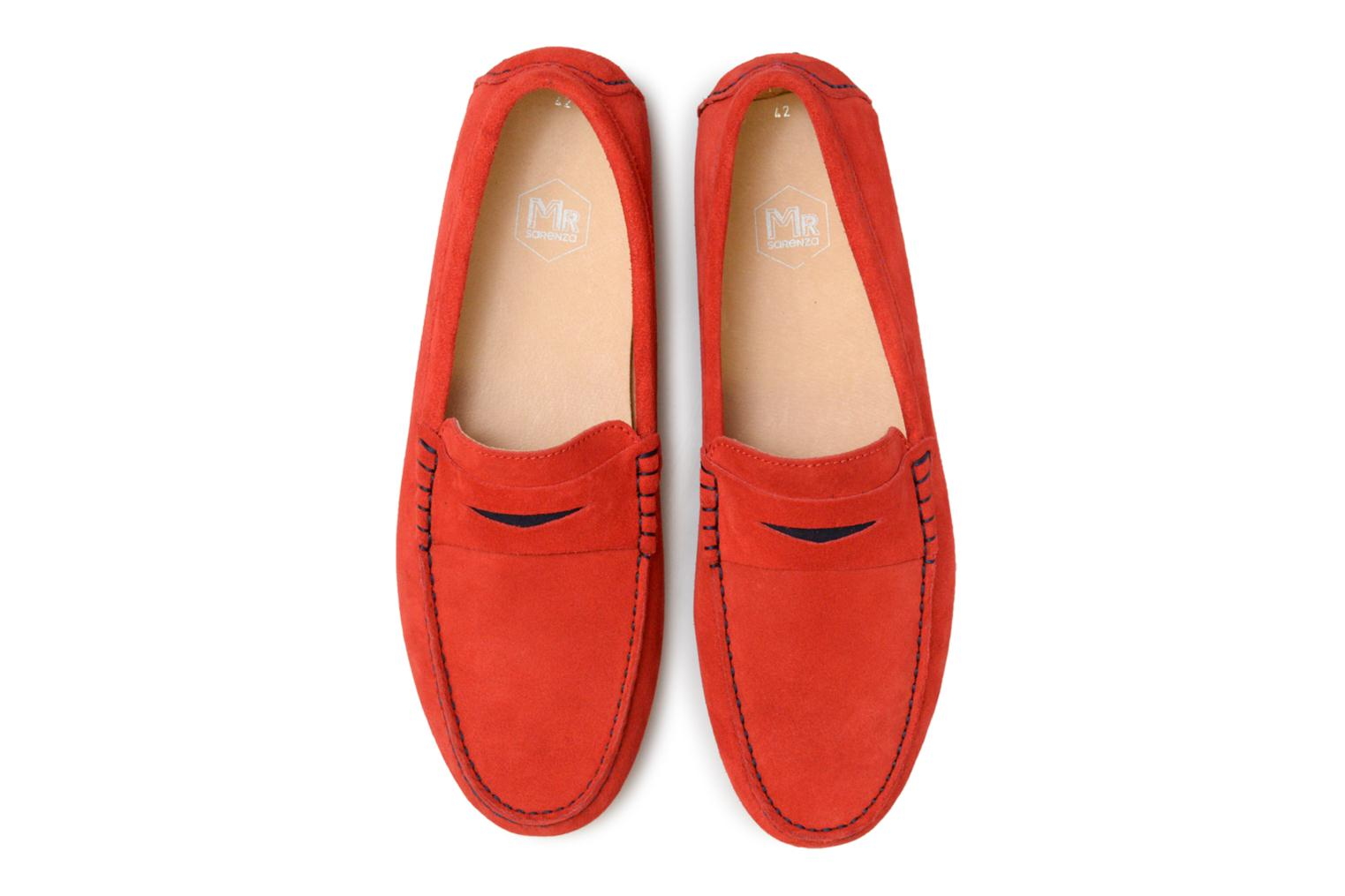 Loafers Mr SARENZA Suttin Red model view