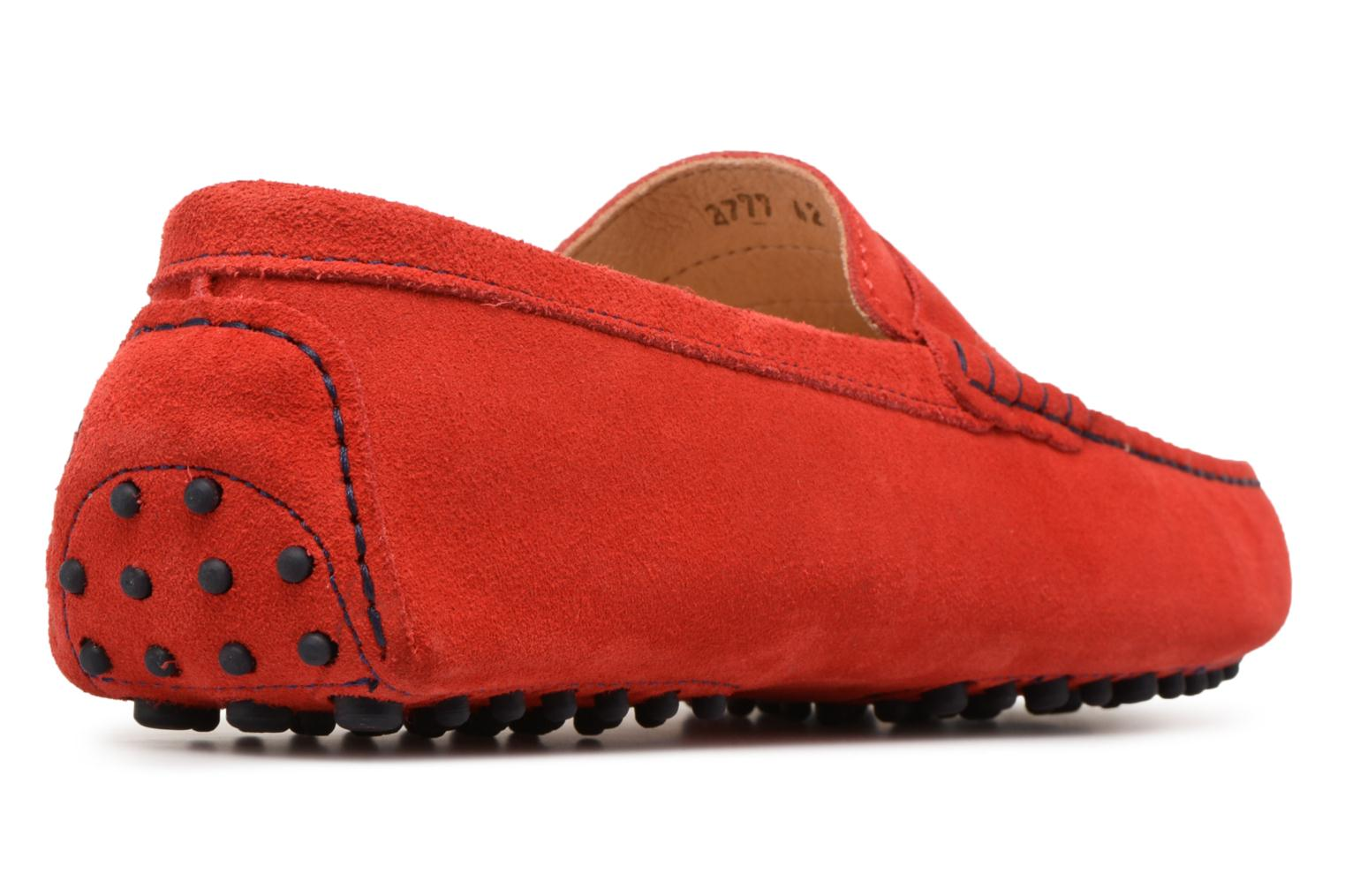 Loafers Mr SARENZA Suttin Red front view