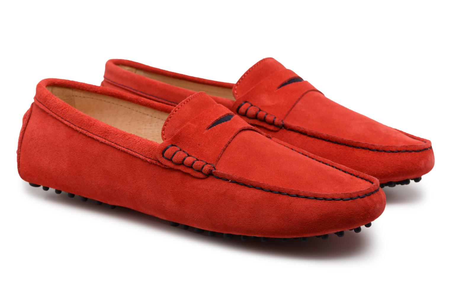 Loafers Mr SARENZA Suttin Red back view